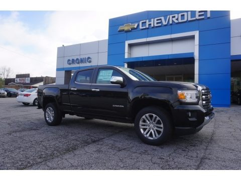 Onyx Black 2017 GMC Canyon SLT Crew Cab
