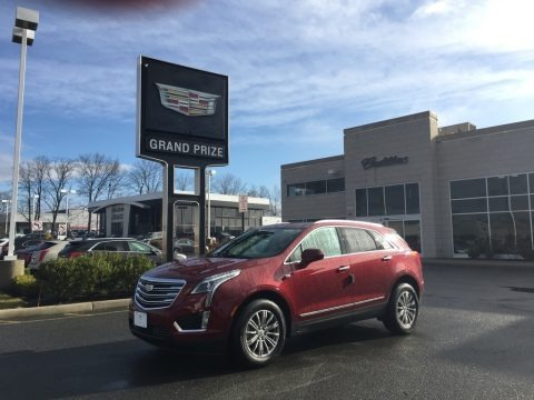 Red Passion Tintcoat 2017 Cadillac XT5 Luxury AWD