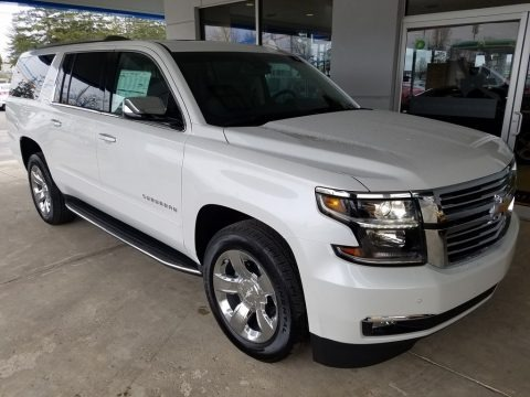 Iridescent Pearl Tricoat 2017 Chevrolet Suburban Premier 4WD