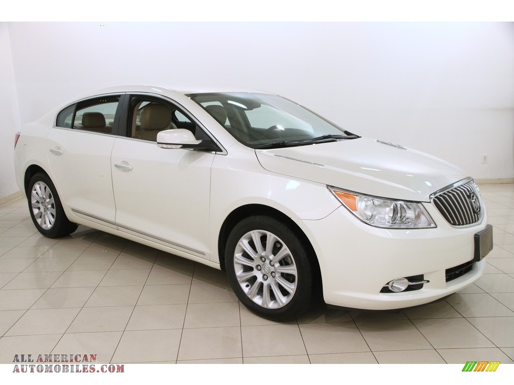 2013 buick lacrosse fwd in white diamond tricoat 319411 all american automobiles buy. Black Bedroom Furniture Sets. Home Design Ideas