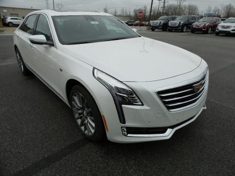 Crystal White Tricoat 2017 Cadillac CT6 3.6 Luxury AWD Sedan