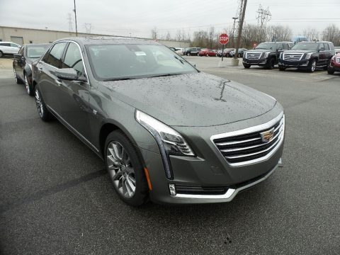 Moonstone Metallic 2017 Cadillac CT6 3.6 Luxury AWD Sedan