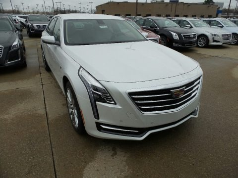 Crystal White Tricoat 2017 Cadillac CT6 3.6 AWD Sedan