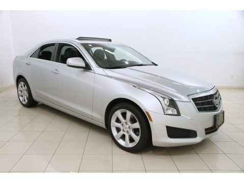 Radiant Silver Metallic 2013 Cadillac ATS 2.0L Turbo AWD