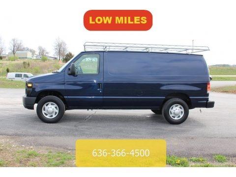 Dark Blue Pearl 2014 Ford E-Series Van E250 Cargo Van