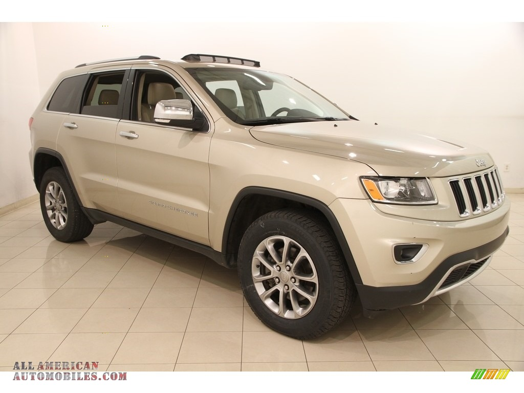 2015 jeep grand cherokee limited 4x4 in cashmere pearl 633919 all american automobiles buy. Black Bedroom Furniture Sets. Home Design Ideas