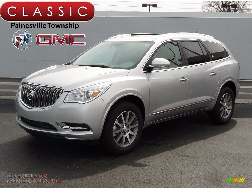 2017 buick enclave convenience in quicksilver metallic 319302 all american automobiles buy. Black Bedroom Furniture Sets. Home Design Ideas