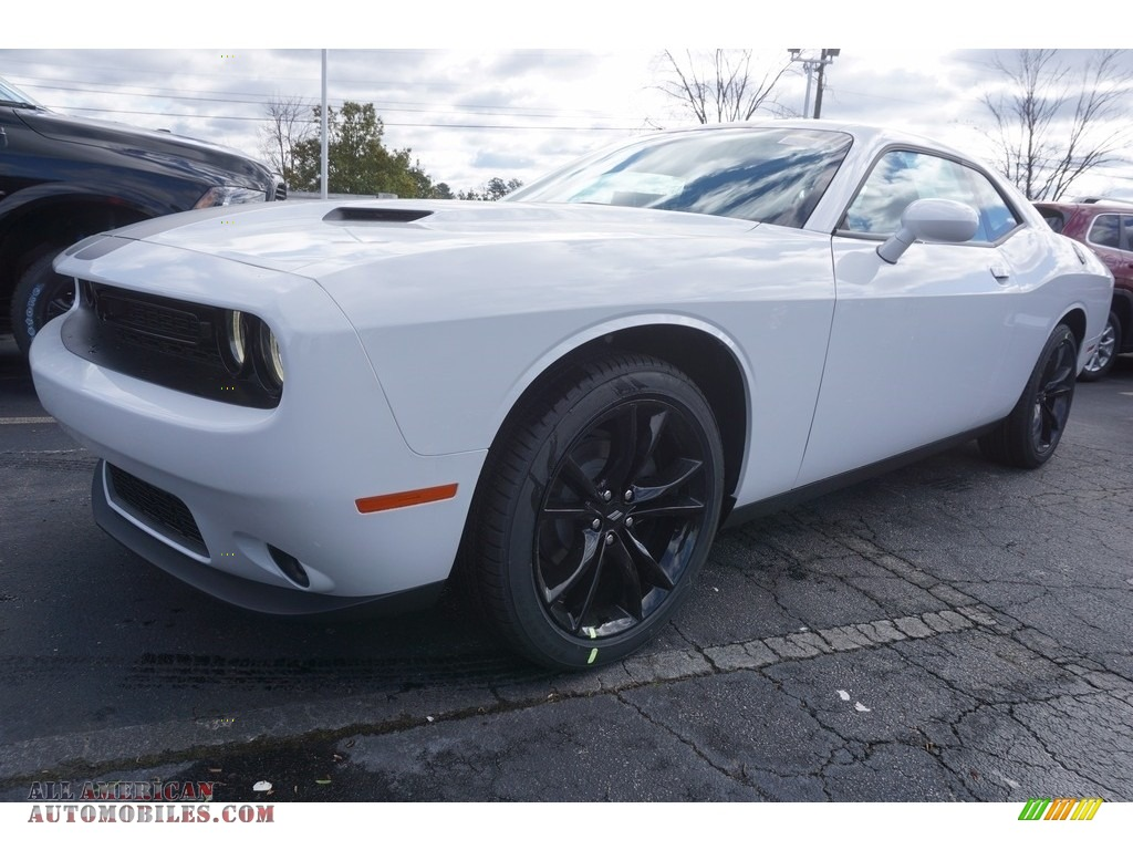 2017 Dodge Challenger SXT in White Knuckle - 592540 | All ...