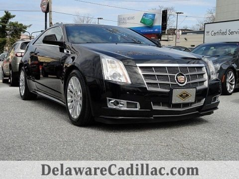 Black Raven 2011 Cadillac CTS 4 AWD Coupe