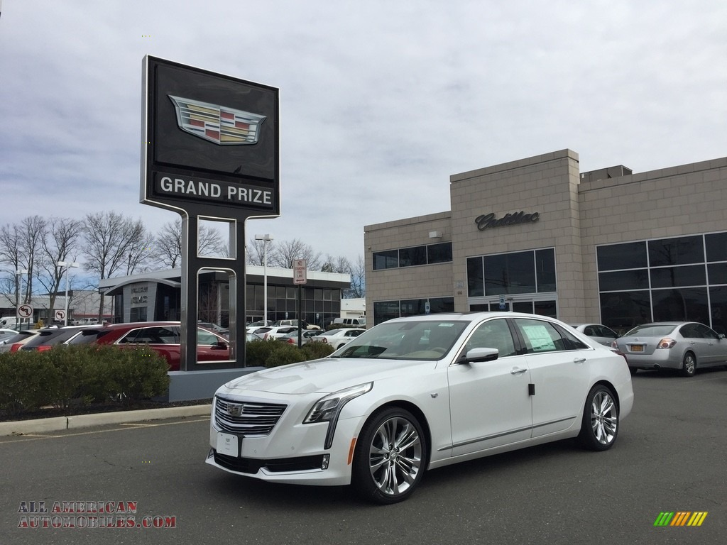 2017 cadillac ct6 3 0 turbo platinum awd sedan in crystal white tricoat 175085 all american. Black Bedroom Furniture Sets. Home Design Ideas