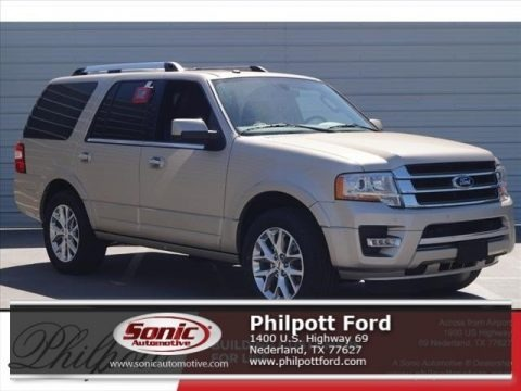 White Gold 2017 Ford Expedition Limited