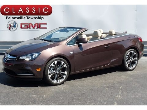 Toasted Coconut Metallic 2017 Buick Cascada Premium