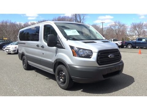 Ingot Silver 2017 Ford Transit Wagon XL