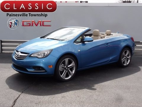 True Blue Metallic 2017 Buick Cascada Sport Touring