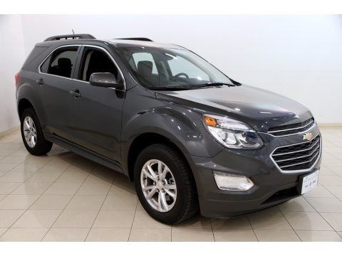 Nightfall Gray Metallic 2017 Chevrolet Equinox LT AWD
