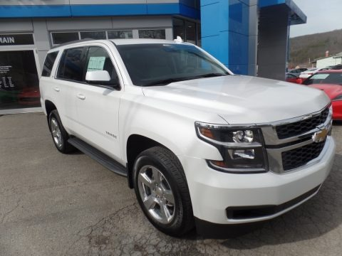 Iridescent Pearl Tricoat 2017 Chevrolet Tahoe LT 4WD