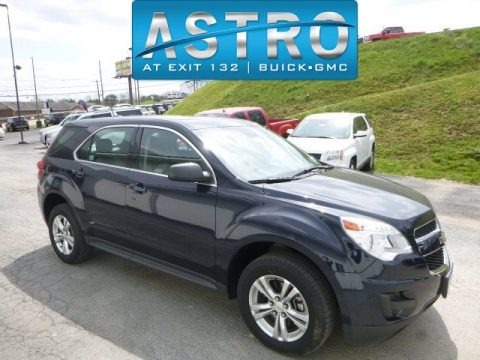 Blue Velvet Metallic 2015 Chevrolet Equinox LS AWD