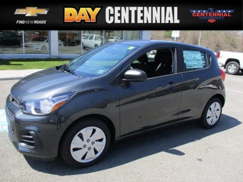 Nightfall Gray Metallic 2017 Chevrolet Spark LS
