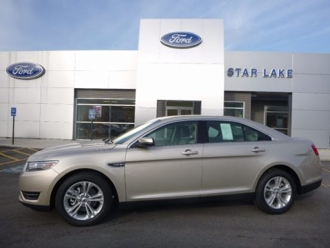 White Gold 2017 Ford Taurus SEL