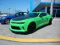 Chevrolet Camaro LT Coupe Krypton Green photo #1