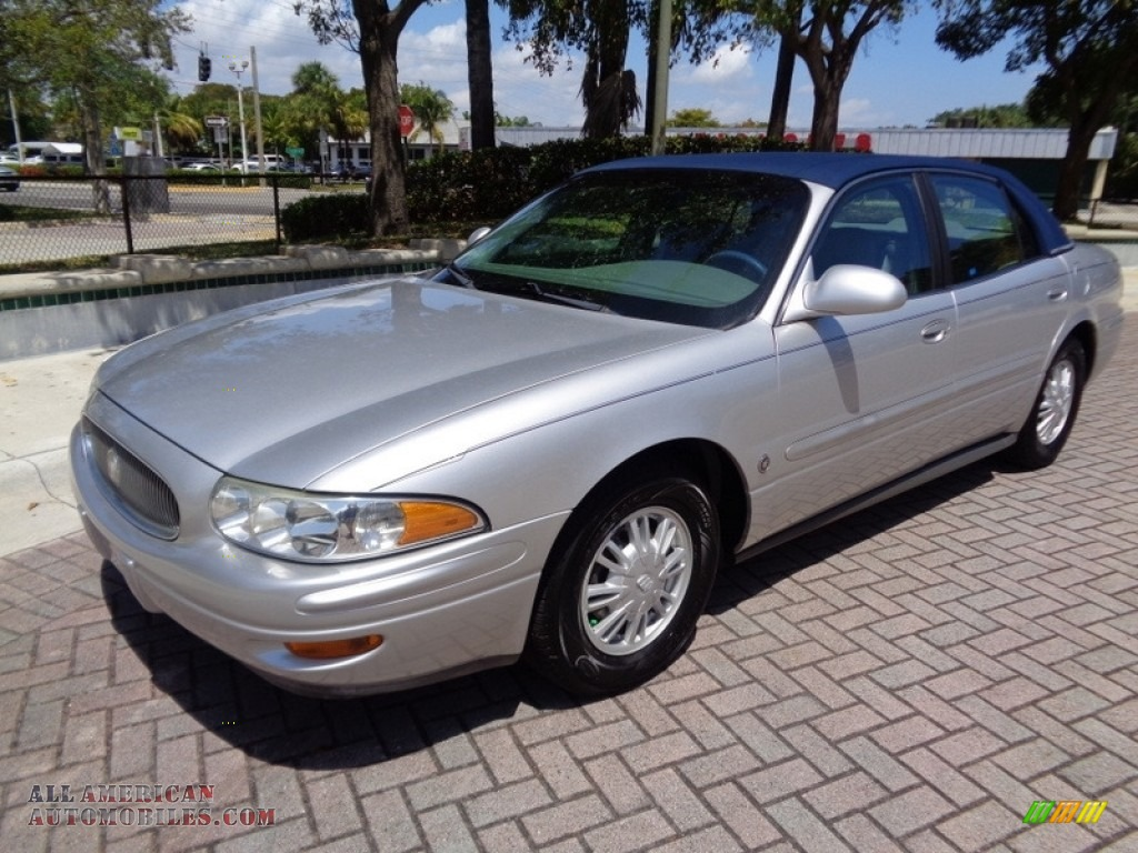 2003 LeSabre Limited - Sterling Silver Metallic / Medium Gray photo #1