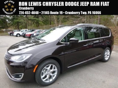 Dark Cordovan Pearl 2017 Chrysler Pacifica Touring L Plus