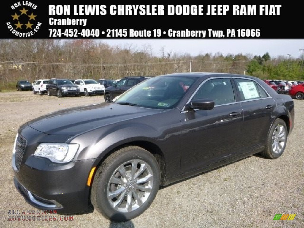 Granite Crystal / Black Chrysler 300 Limited AWD
