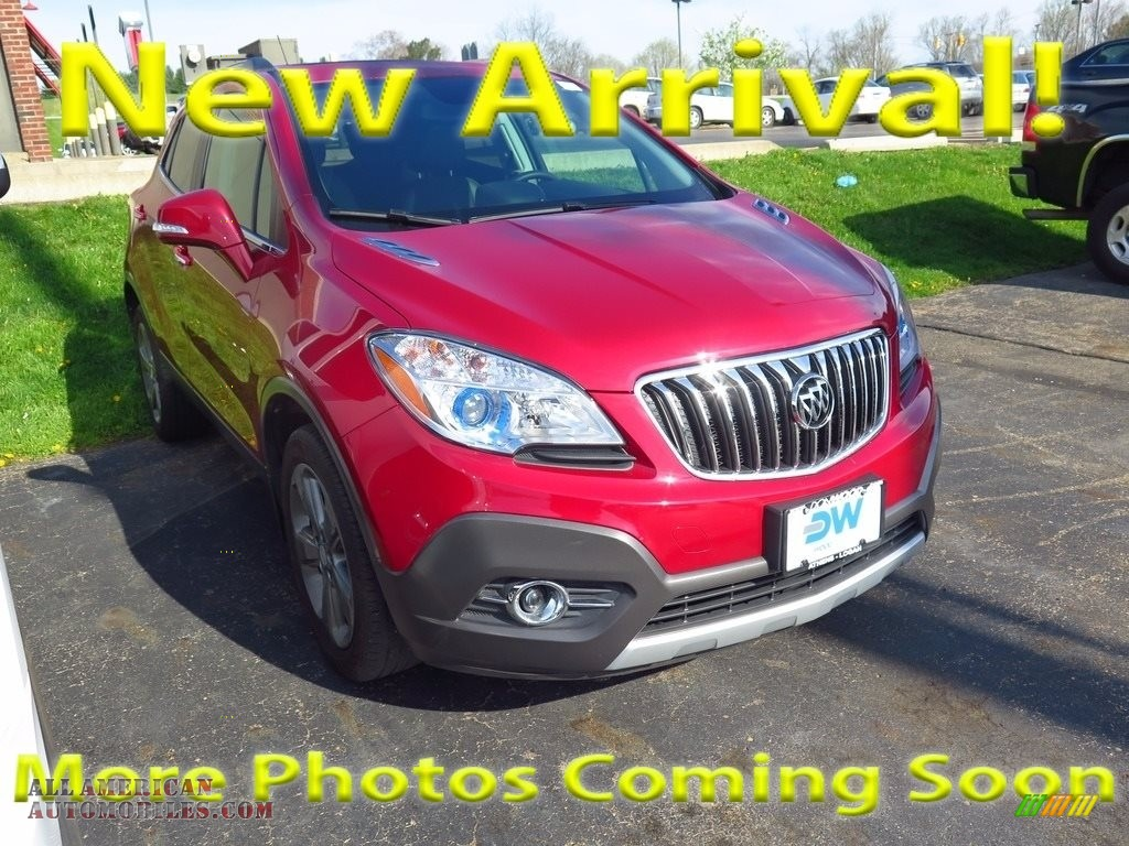 2014 Encore Convenience AWD - Ruby Red Metallic / Ebony photo #1