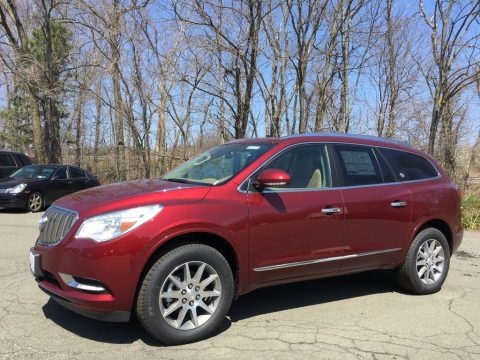 Crimson Red Tintcoat 2017 Buick Enclave Leather AWD