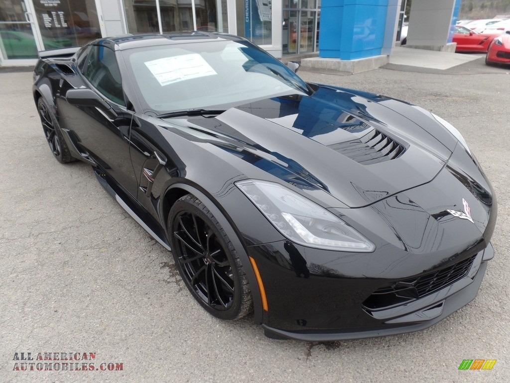2017 Corvette Grand Sport Coupe - Black / Jet Black photo #1