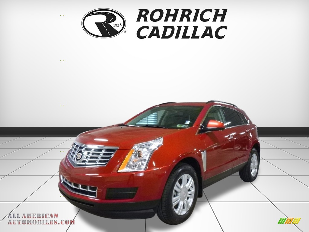 2015 SRX FWD - Crystal Red Tintcoat / Ebony/Ebony photo #1