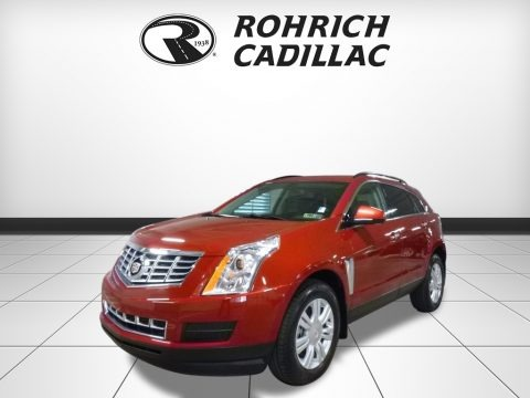 Crystal Red Tintcoat 2015 Cadillac SRX FWD