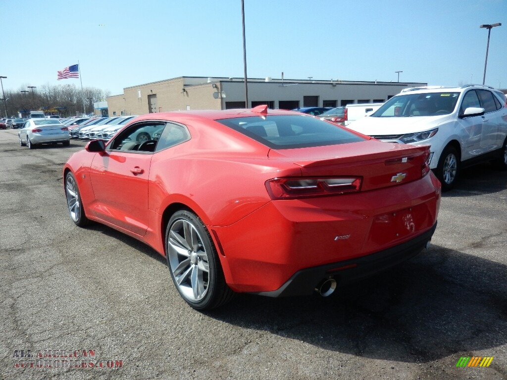 2017 Camaro LT Coupe - Red Hot / Jet Black photo #6