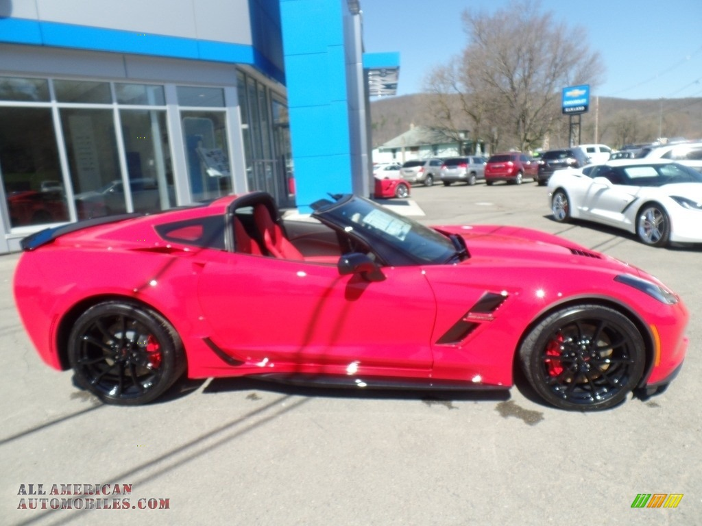 2017 Corvette Grand Sport Coupe - Torch Red / Adrenaline Red photo #2