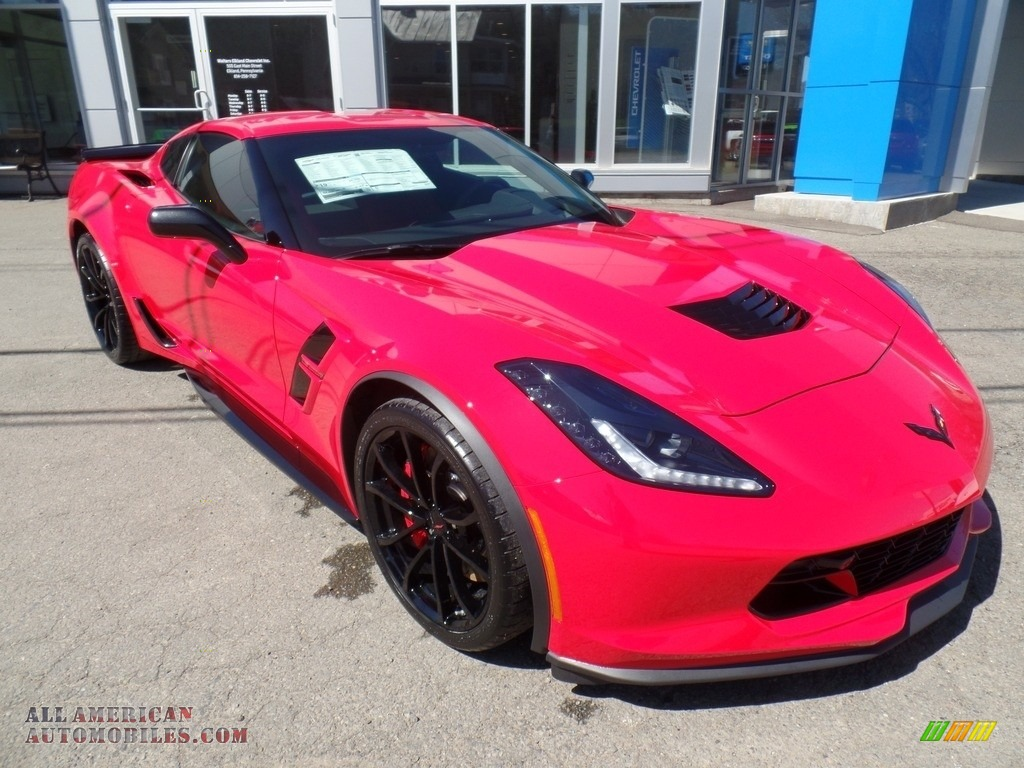 2017 Corvette Grand Sport Coupe - Torch Red / Adrenaline Red photo #5