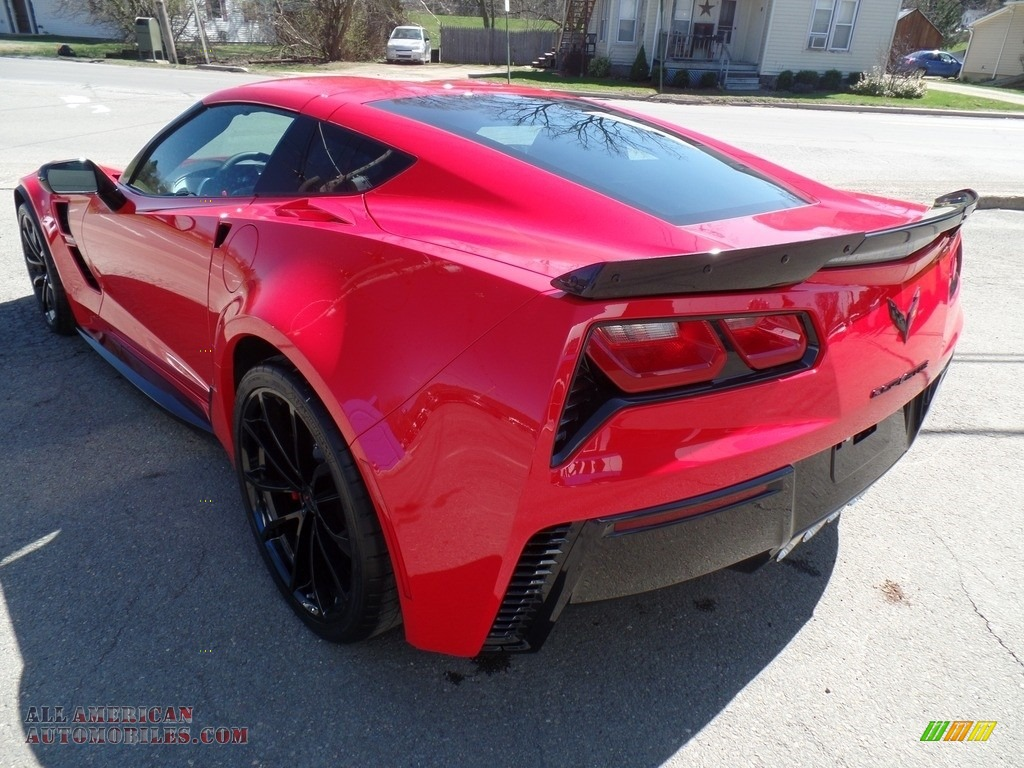 2017 Corvette Grand Sport Coupe - Torch Red / Adrenaline Red photo #9