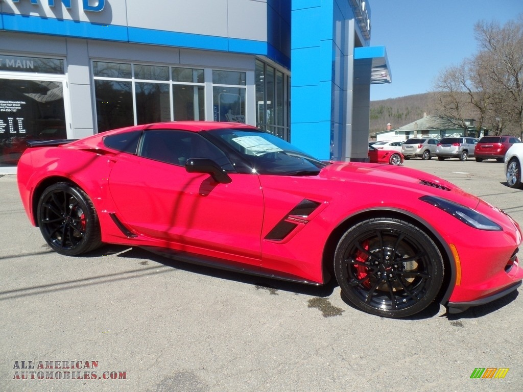 2017 Corvette Grand Sport Coupe - Torch Red / Adrenaline Red photo #13