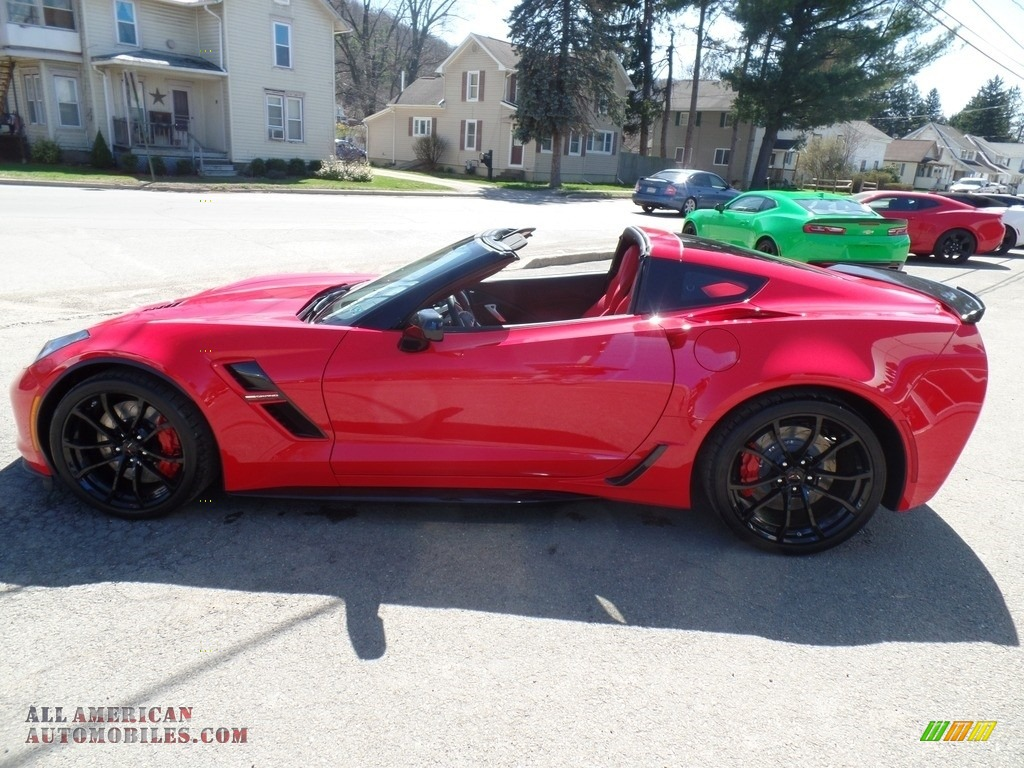 2017 Corvette Grand Sport Coupe - Torch Red / Adrenaline Red photo #14
