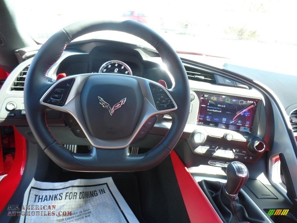 2017 Corvette Grand Sport Coupe - Torch Red / Adrenaline Red photo #25