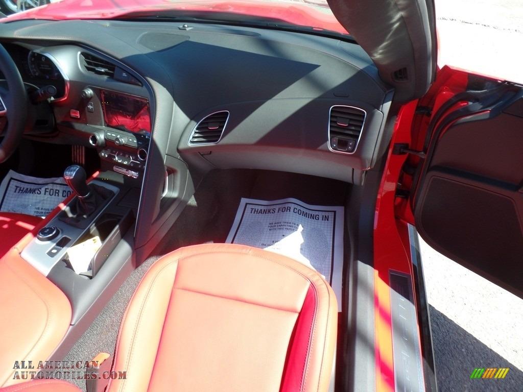 2017 Corvette Grand Sport Coupe - Torch Red / Adrenaline Red photo #49