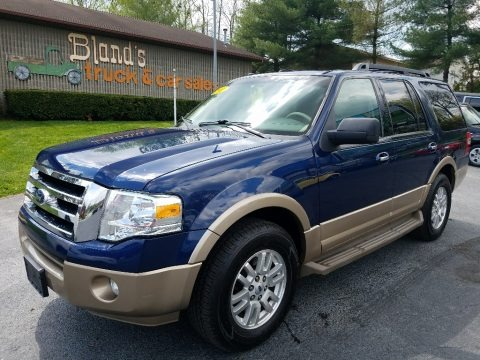 Dark Blue Pearl Metallic 2011 Ford Expedition XLT