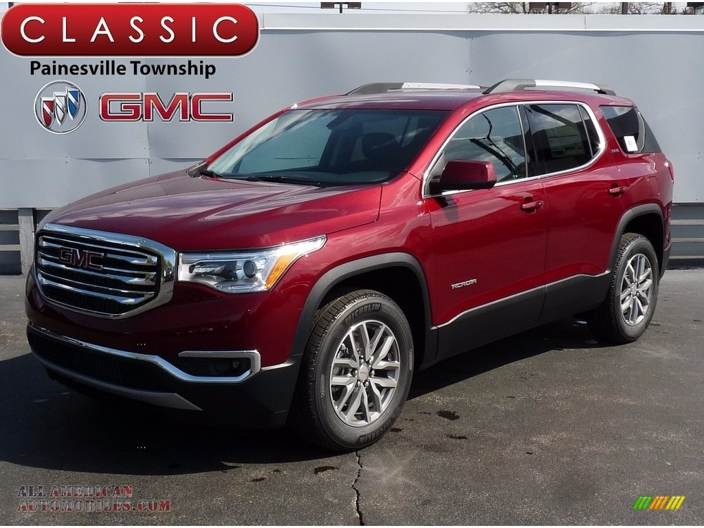 2017 Acadia SLE AWD - Crimson Red Tintcoat / Jet Black photo #1