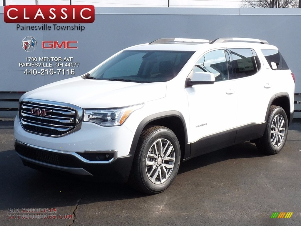2017 Acadia SLE AWD - Summit White / Jet Black photo #1