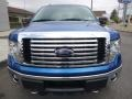 Ford F150 XLT SuperCab 4x4 Blue Flame Metallic photo #2