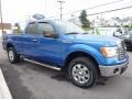 Ford F150 XLT SuperCab 4x4 Blue Flame Metallic photo #3
