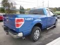 Ford F150 XLT SuperCab 4x4 Blue Flame Metallic photo #6
