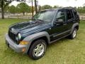 Jeep Liberty CRD Sport 4x4 Deep Beryl Green Pearl photo #1