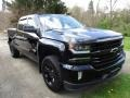 Chevrolet Silverado 1500 LTZ Crew Cab 4x4 Black photo #3