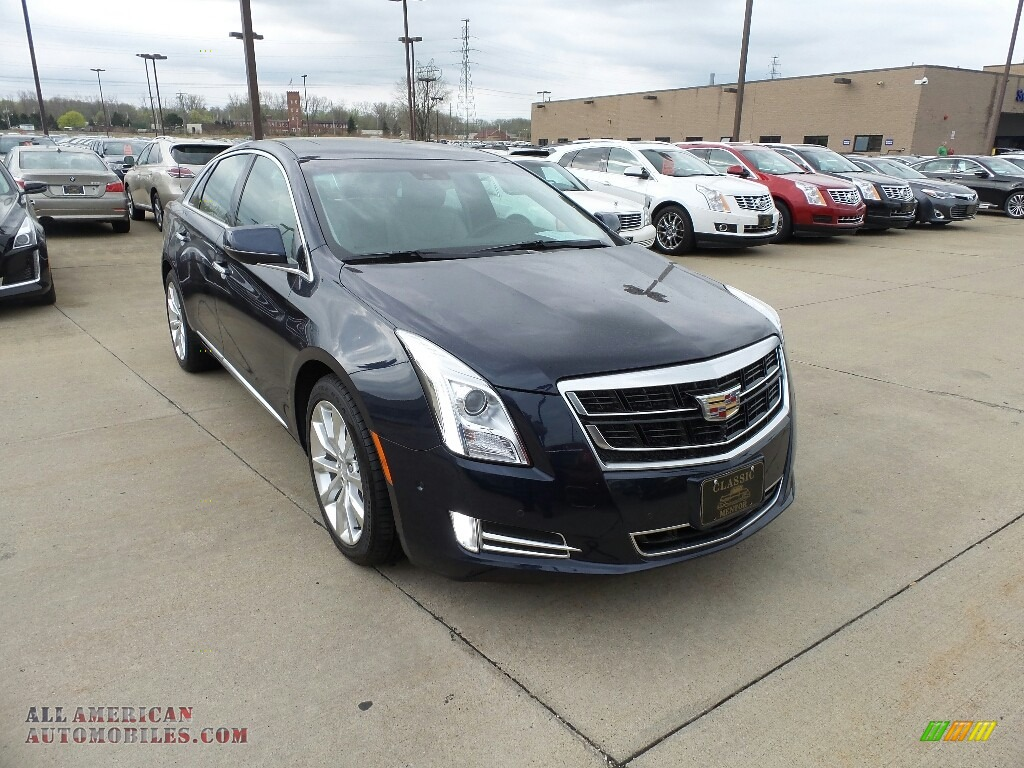 2017 XTS Luxury - Dark Adriatic Blue Metallic / Shale w/Cocoa Accents photo #1