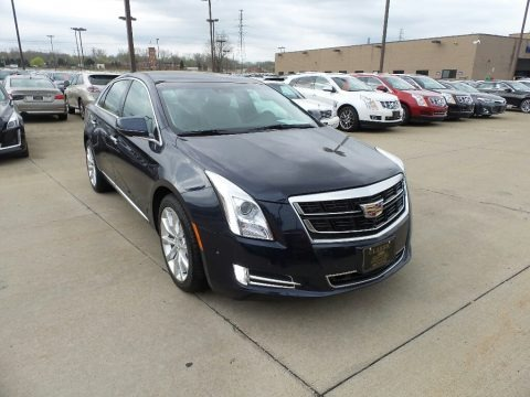 Dark Adriatic Blue Metallic 2017 Cadillac XTS Luxury